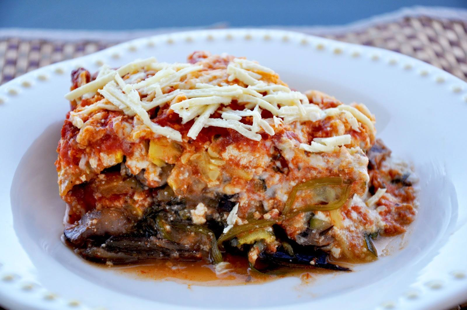 NO PASTA LASAGNA (Vegan and Gluten Free!)